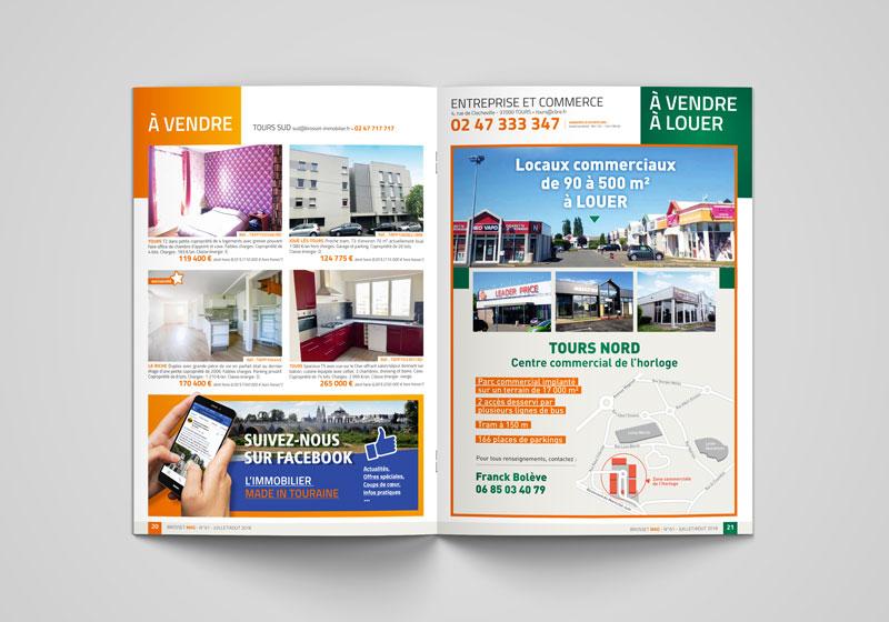 magazine d'entreprise - TOURS 37