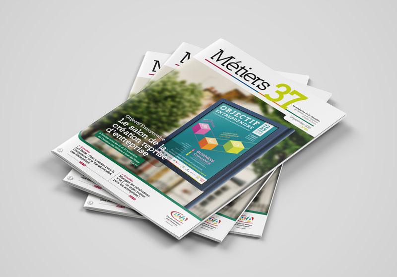 Création de magazine - Tours agence de communication