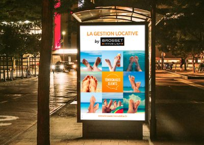 Brosset Immobilier, campagne gestion locative