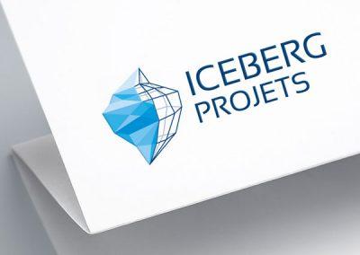 Iceberg Projet, création du logo