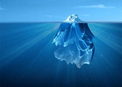 site internet iceberg projet, agence de communication à tours