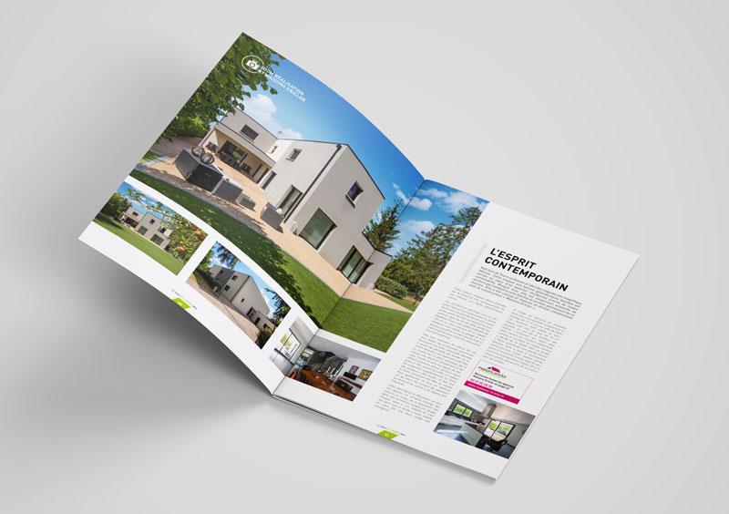 magazine, plaquette, agence de communication Tours 37