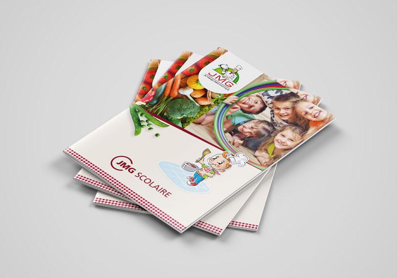 Création magazine, plaquette, book, rapport activité - TOURS 37