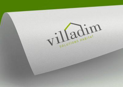 Villadim, création du logo
