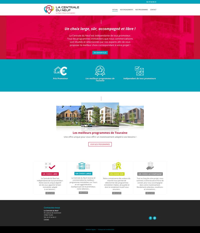 Site internet tours 37_la Centrale du Neuf