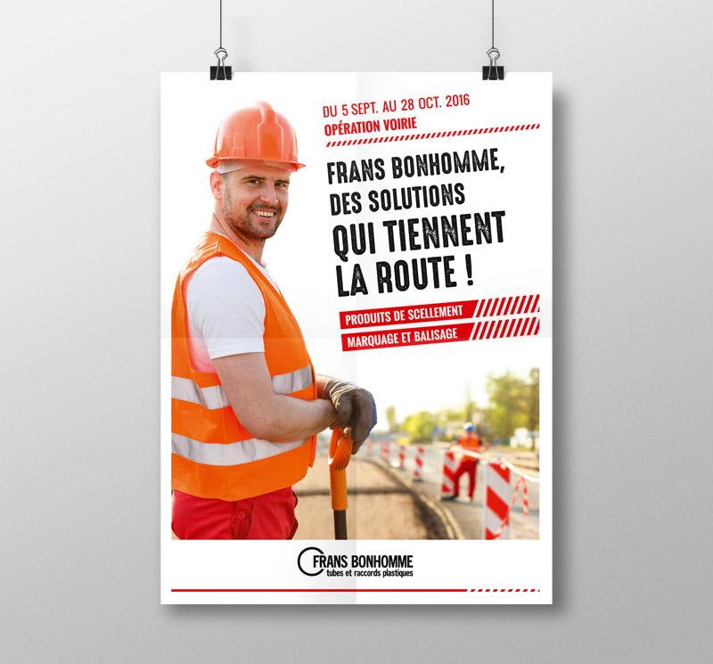 création affiche promotions