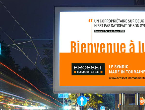 Brosset Immobilier, campagne syndic