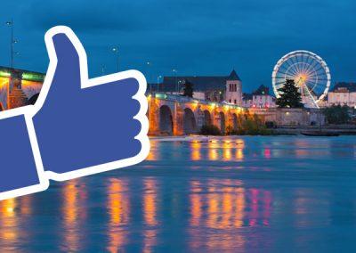 Brosset Immobilier, campagne facebook
